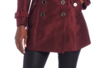 Women's Kendrix Trench Coat with Studs