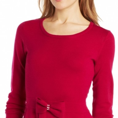 Women's Long-Sleeve Peplum Sweater