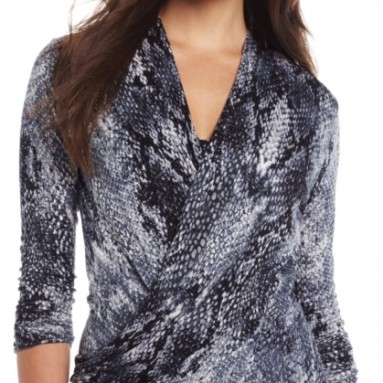 Women's Python Wrap Top