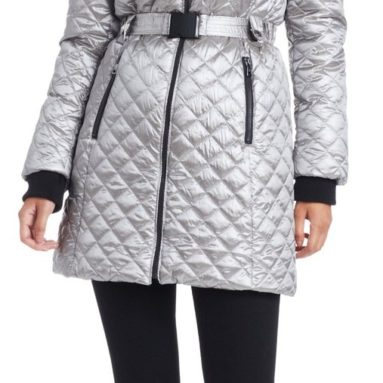 Women's Share Fur Trimmed Down Coat