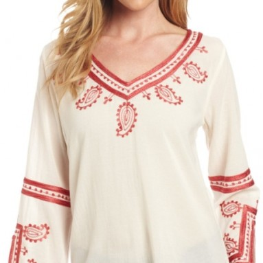 Women's Topanga Days Embroidered Top