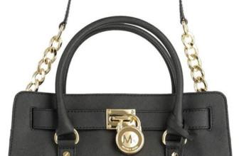 Michael Kors Hamilton E/W Saffiano Satchel Handbag