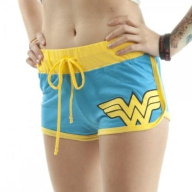 Wonder Woman Booty Shorts Juniors Girls